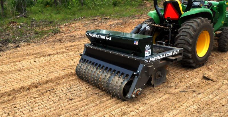 The Firminator Makes Planting Small Food Plots Easy